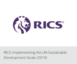 RICS: Implementing the UN Sustainable Development Goals (2019)
