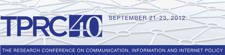 Right To Be Forgotten and Data Security Featured in Research Conference on Communication Information and Internet Policy