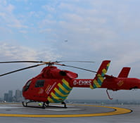Living the High Life With the London Air Ambulance