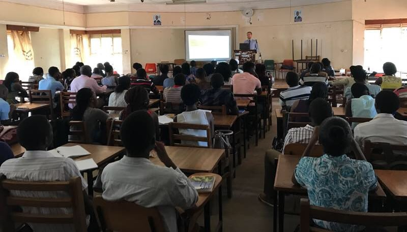 Makerere lecture room